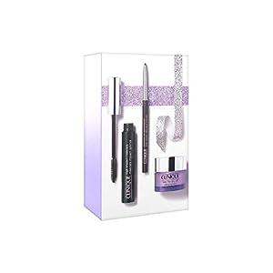Clinique Mascara Pestañas High Impact 01 + Crayon Eyeliner 01 + Balasamo Desmaquillante Take The Day Off, 5 ml