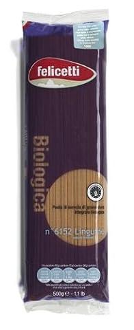 Felicetti Organic Linguine Whole Wheat 500G.