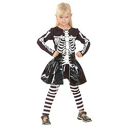 Boland / Kinderkostüm Skelett Girl Kostüm (Skelett Kostüme Girl)