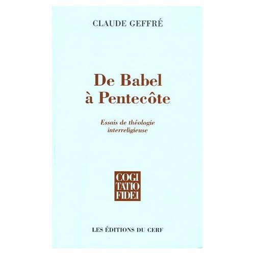 De Babel à Pentecôte
