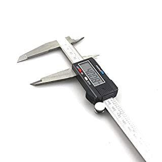 ZMNXZQLL 300Mm 12 Inch Digital Vernier Caliper Electronic Stainless Steel Caliper Rule Gauge Diagnostic-Tool 0.01Mm