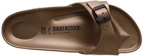 Birkenstock Madrid Eva, Mules Femme Marron (metallic Copper)