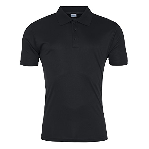 Cool Smooth Polo Jet Black