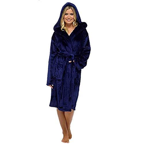 STRIR Invierno Señoras Robe Luxury Terry Toweling