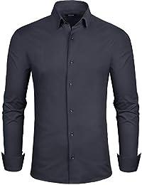 Grin Bear Herren Hemd    Einführungsangebot    in 3 Verschiedenen  Passformen, von Extra Slim Fit bis… 2259380bfd