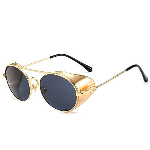 SNXIHES Sonnenbrillen New Vintage Luxury Style Sonnenbrille Qualität Handgefertigte Seitenschutz Sonnenbrille 8