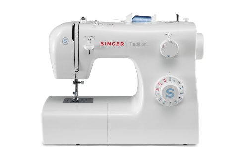 Singer 2259 Machine à Coudre Tradition 31 Points Ajustables Boutonnière 4 Temps , Blanc