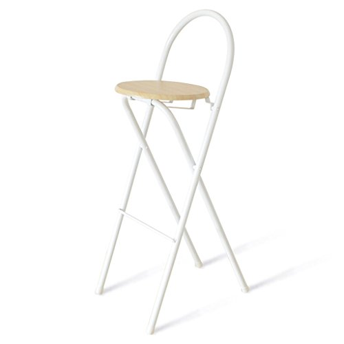 Bar Stool Collapsible Bar Stool Metal Dining Stool Modern Minimalist Style  Collapsible Cafe Stool High