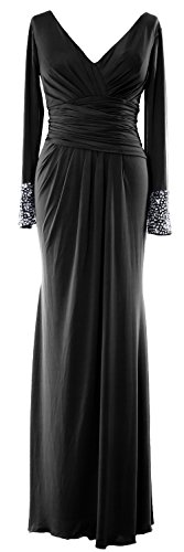 macloth-women-long-sleeves-v-neck-jersey-maxi-formal-evening-gown-mob-dress-eu38-negro