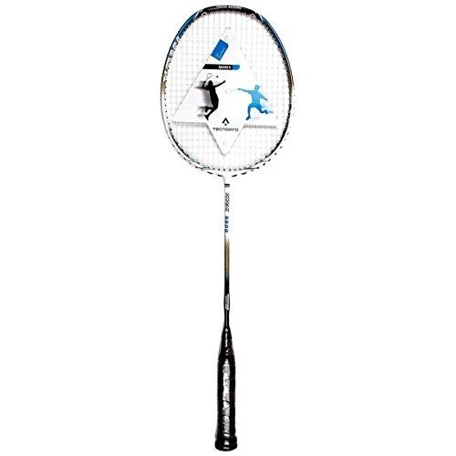 TECNOPRO Badmintonschläger Nano K 9800 (Farbe: blau/grau/weiss)