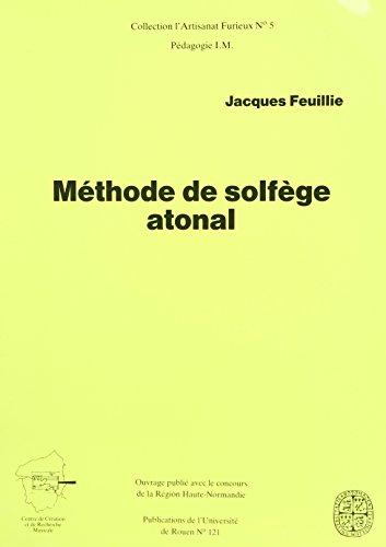 Méthode de solfège atonal
