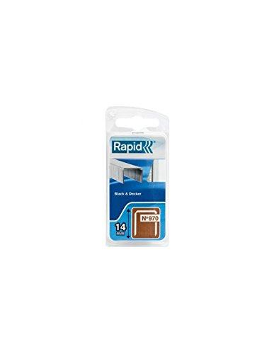 Preisvergleich Produktbild Rapid 40109553 Klammer für Black & Decker Produkte Typ 970 / 14mm,  670 St. Blister 14 mm