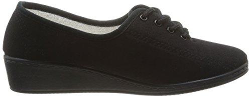 Luxat Bego, Chaussures de ville femme Noir (Noir)