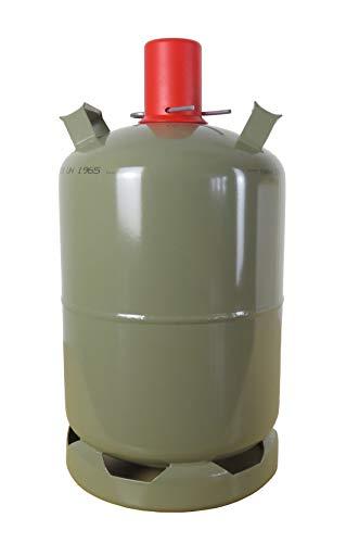 11 kg Gasflasche Propan-Gas für Camping, Gasgrill, Heizer, Brenner LEER