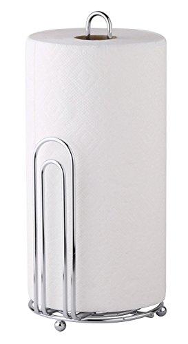 "Greenco Chrome Paper Towel Holder, 6"" W x 13"" H x 5.75"" D"