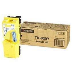 Preisvergleich Produktbild Kyocera 1T02HPAEU0 TK-820Y Tonerkartusche 7.000 Seiten, gelb