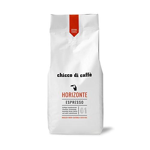 chicco di caffè | Espresso Horizonte | ganze Kaffeebohnen | 70% Arabica - 30% Robusta | schonend...