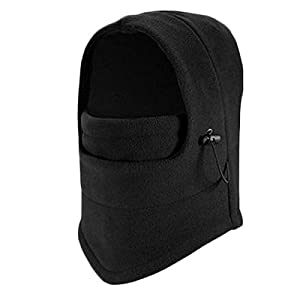 M-Elecore Thermal Fleece Balaclava Hut mit Kapuze Nackenwärmer Winter Sports Gesichtsmaske