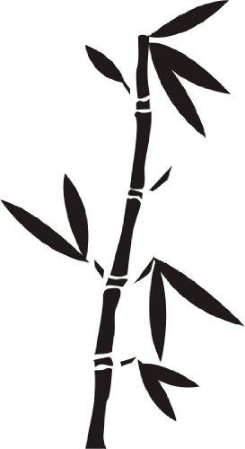WANDTATTOO / Wandsticker w331 Bambus Gras Wandauskleber