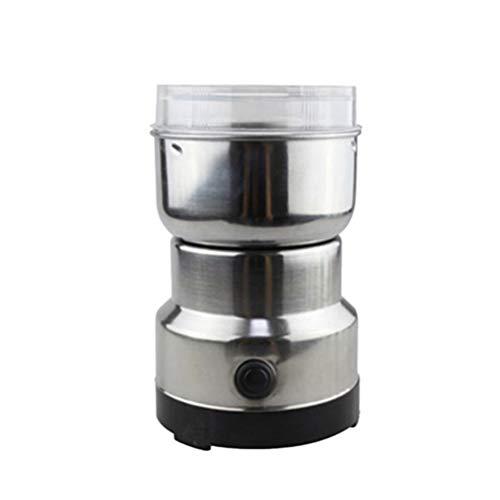 BESTONZON Elektro-Pulvermühle Schleifmaschine Werkzeug für Kaffeebohnen Gewürz mit EU-Stecker (mit AU-Stecker-Konverter) -