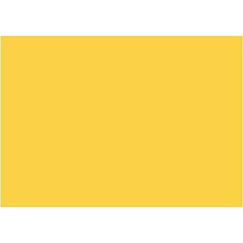 Feuilles de mousse EVA A4 21 x 30 cm, épaisseur 2 mm, jaune, 10 feuilles