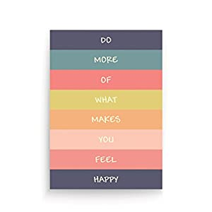 What makes you feel happy notebook