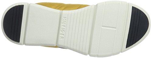 Tommy Hilfiger T2285obias 9c, Sneaker Basses Homme Jaune (Honey Gold 800)