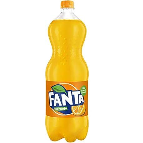 Fanta Zero Naranja Refresco con gas 2 l Pack de 6 Botella de pl stico