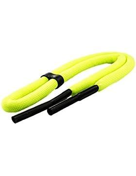 Edison & King Cordón flotante para gafas en colores vivos/fosforito a elegir en paquete de 1 o 2 unidades (amarillo...