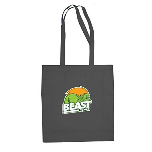 Planet Nerd Beast Power - Stofftasche/Beutel, Farbe: ()