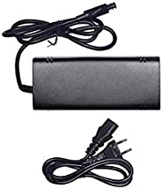 Porro Fino Xbox 360 E Power Supply, Power Supply Cord AC Adapter Replacement Charger for Xbox 360 E, 100-240V