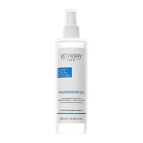 Original Zechstein Magnesium Öl - Magnesiumchlorid Spray - dermatologisch klinisch getestet (300 ml) - Magnesium-Öl