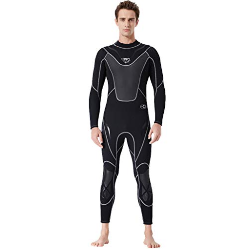 SuperSU Tauchanzug ►▷ X-MANTN Herren Surf-NeoprenanzüGe Wassersport Schwimmanzug Surfanzug Schnorcheln One Piece UV-Schutz Badeanzug tauchanzüge Neoprenanzug Bademode Badeanzüge
