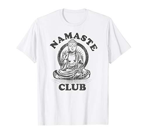 Namaste Club Shirt Meditation Achtsamkeit Buddha Yoga Shirt