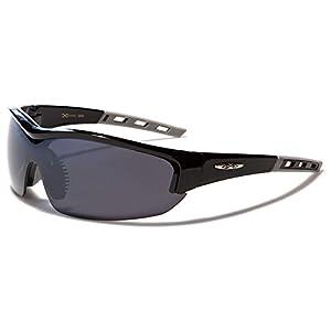 X-Loop Sonnenbrillen mit Brillenetui – Sport – Radfahren – Skifahren – Laufen – Autofahren (Mit Brillenetui / Vault)