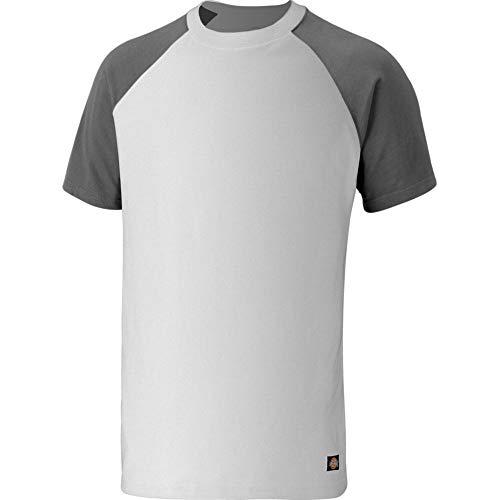 Dickies T-Shirt, Größe:S, Farbe:Weiss/grau -