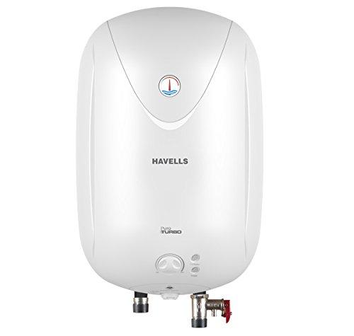 Havells Puro Turbo 25-Litre Storage Heater (White)