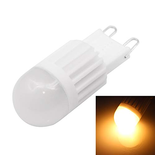 Lampadine a LED Lampadina Smart Light Bulb G9 2W 90-110LM Dimmerabile in ceramica, 1 LED ad alta potenza, luce bianca, AC 220V (Colore : Color2)