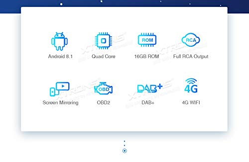 XTRONS-62-Android81-Autoradio-mit-Touchscreen-Quad-Core-DVD-Player-Autostereo-MirrorLink-4G-WiFi-Full-RCA-Ausgang-Bluetooth-Lenkradfernbedienung-16GB-ROM-DAB-OBD2-FR-JeepDodgeChrysler