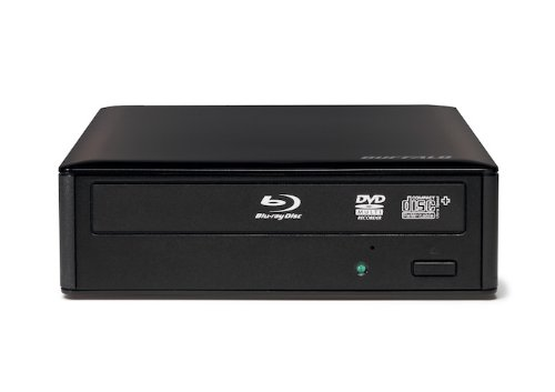 Buffalo BRXL-16U3-EU externer Blu-ray-Brenner 16x USB 3.0 mit CyberLink Software Suite