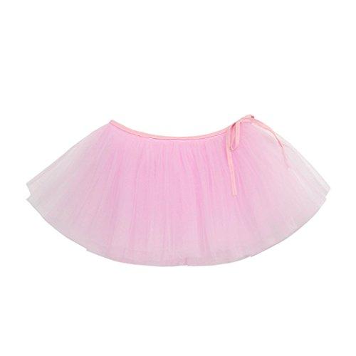 JYJM Babybekleidung Ballett-Tutu-Prinzessin-Rock-Tanz-Abnutzungs-Kostüm-Partei-Mädchen-Kleinkind-Kinderrock Belted halblanger flaumiger Rock TUTU-Rock -