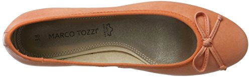 Marco Tozzi Premio 22107, Ballerines Femme Rouge (Coral 563)
