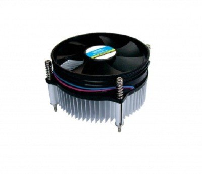 Zebronics Cpu Cooling Fan For Socket LGA 775 Cooler (Black)  available at amazon for Rs.299