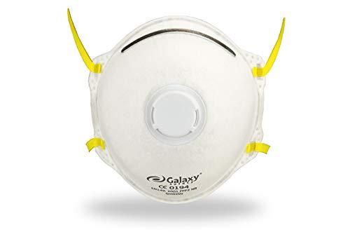 Dust Mask FFP2with valvola Galaxy gm020V (10pezzi/Box) 92004