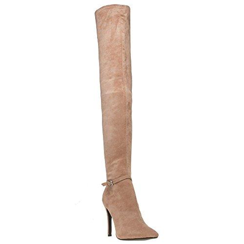 PUBLIC DESIRE West Femme Boots Nude