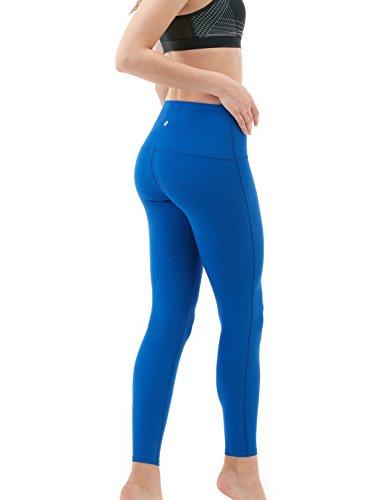 Tesla de yoga pour femme Pantalon High-waist contrôle du ventre L Poche cachée Fyp42 TM-FYP42-BLU