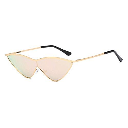 AMUSTER Unisex Sonnenbrille Polarisierte Sonnenbrille Fahrerbrille Frauen Vintage Cateye Rahmen Shades Acetat Rahmen UV Gläser Sonnenbrille Outdoor Sportbrille (Free Size, E)