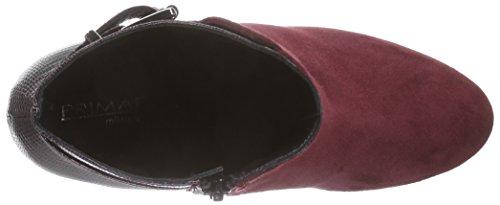Primafila GR906, Stivali classici imbottiti a gamba corta donna Rosso (Rot (merlot / merlot))