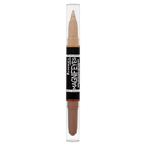 Rimmel Magnifeyes Double Ended Shadow and Eye Liner, Queens of The Bronzed Age, 0.05 Ounce by Rimmel