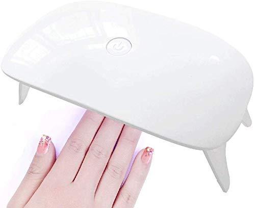 WYBD.Y Peso elettronico Macchina per fototerapia Unghie Tipo Mouse Mini USB asciugatrice principiante LED Lampada per Unghie Lampada per fototerapia in Gomma con Smalto per Unghie